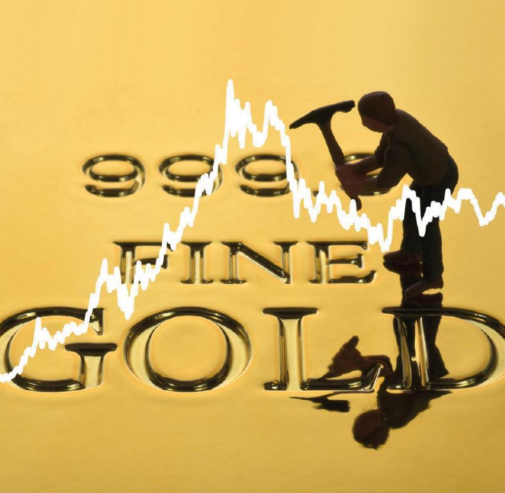 Der Goldpreis steigt und steigt.  Jetzt achtet auch das Finanzministerium darauf