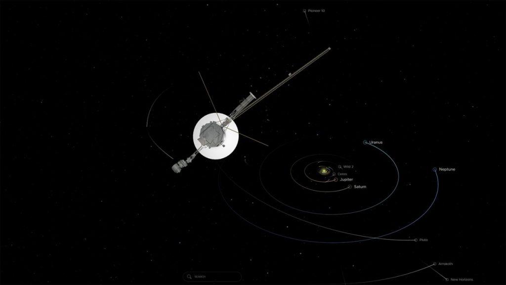 NASAs Voyager 1: 150-mal so weit von der Sonne entfernt wie die Erde