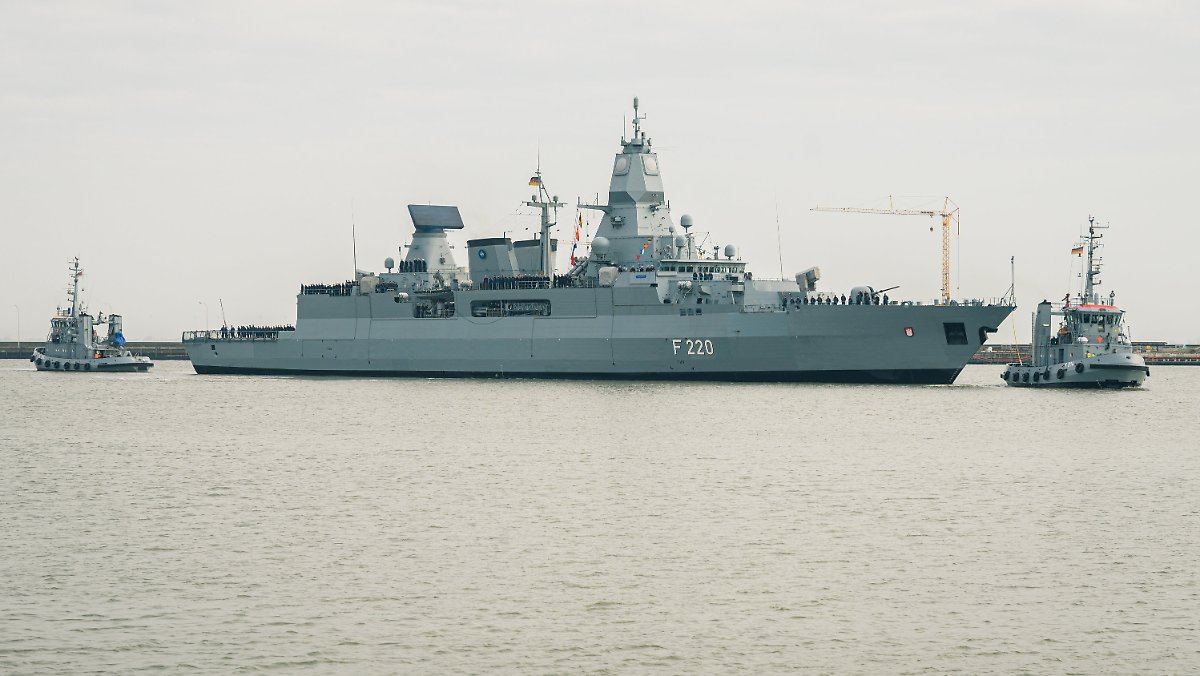 Auf den Spuren der Waffenschmuggler: Deutschland schickt Fregatten nach Libyen