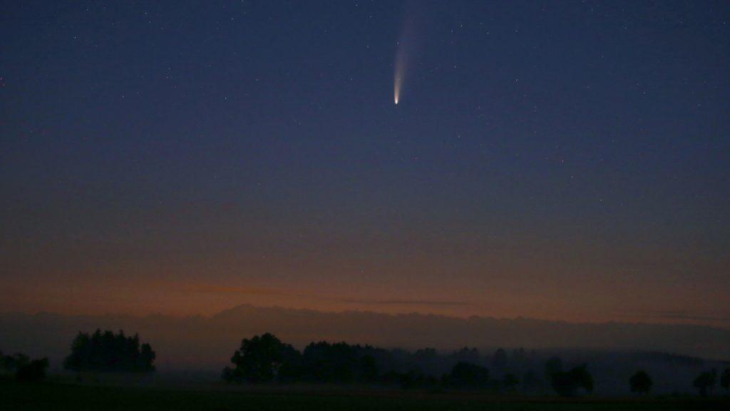 Komet Neowise: Wo kann man es sehen und wann ist das Wetter dafür ideal?