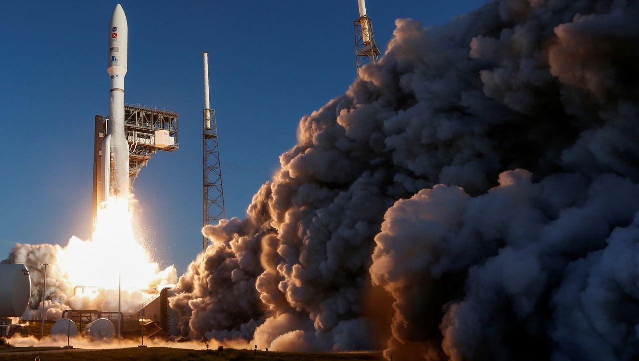 """NASA-Mission: Versetzen Sie die Rakete mit dem Marsrover """"Perseverance"""" in den abgesicherten Modus."""