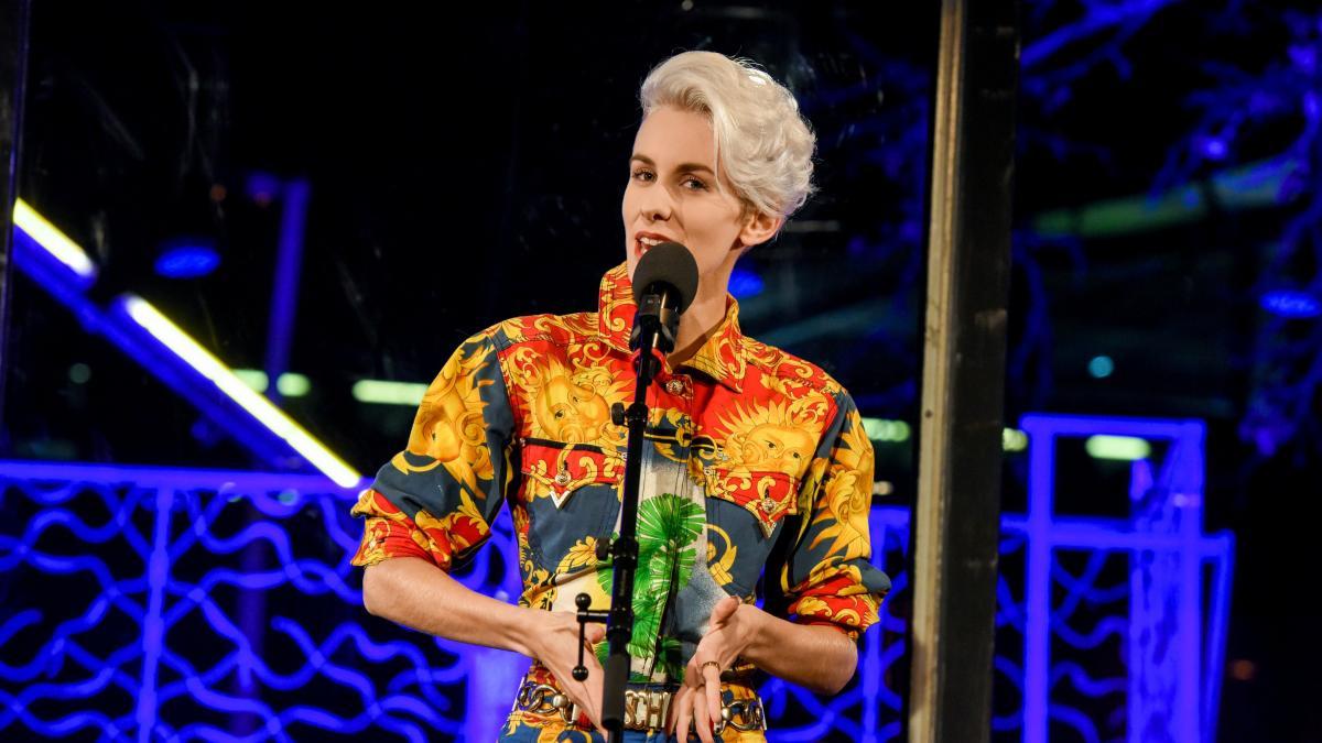 Die Kabarettistin Lisa Eckhart wurde vom Literaturfestival entladen