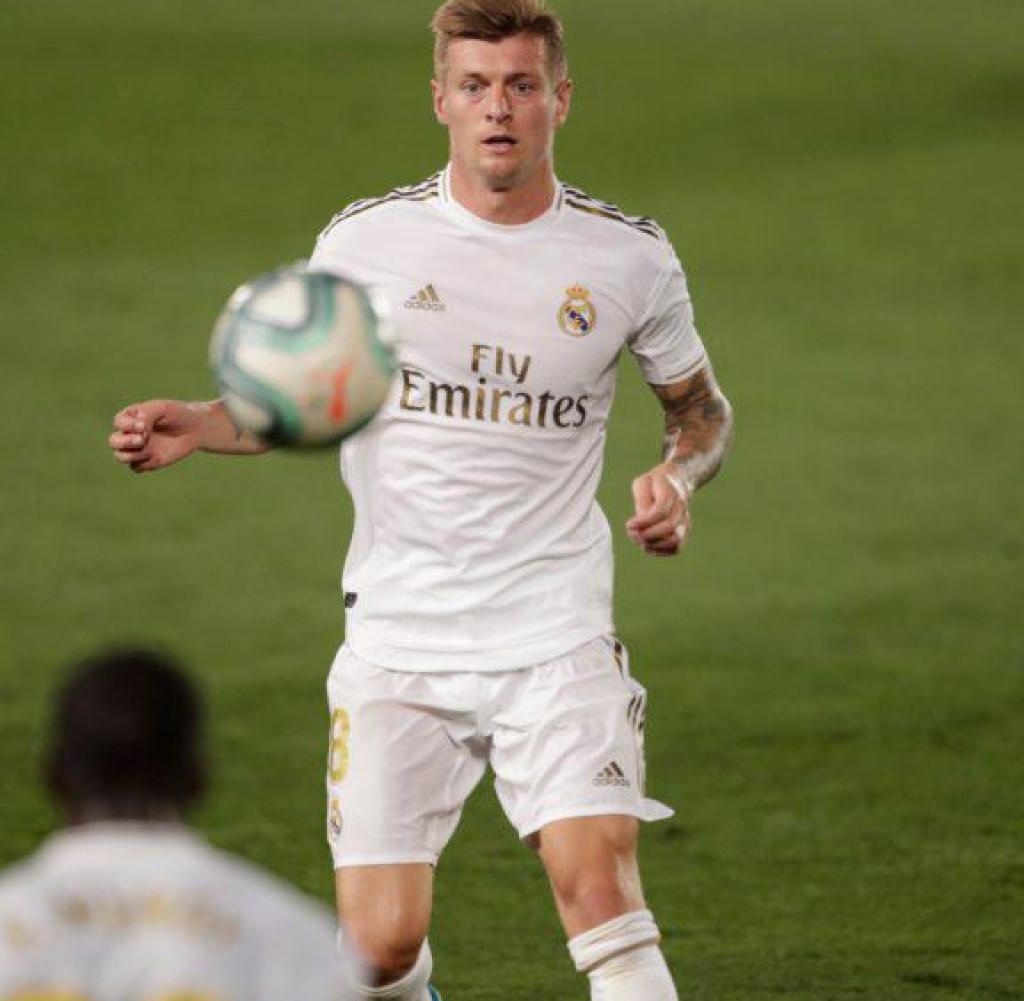 Toni Kroos sollte Real im Viertelfinale gegen Manchester City führen