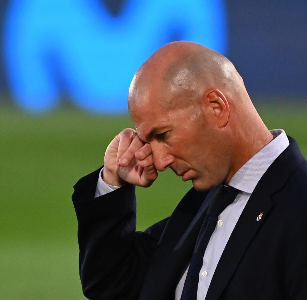 Trainer Zinedine Zidane ließ Kroos erst im Hinspiel auf der Bank