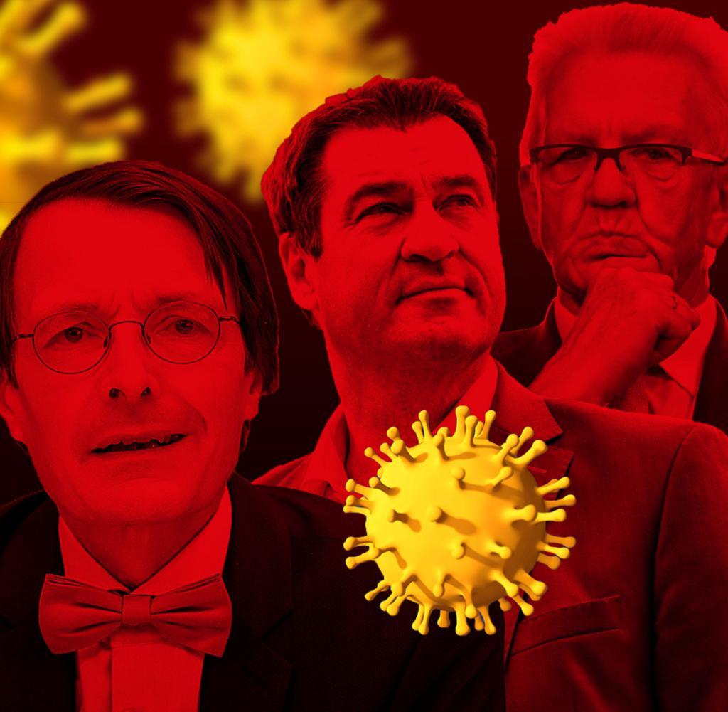 Corona Alarm!  Politiker warnen die Bürger drastisch, lassen sie aber in Ruhe, um die Zahlen zu interpretieren