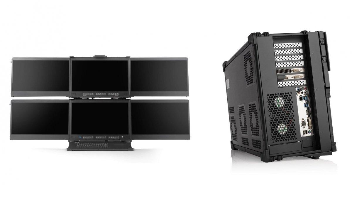 Medienarbeitsplätze a-X2P: Gehäuse-PC mit bis zu 128 Zen-2-Kernen und 6 Displays