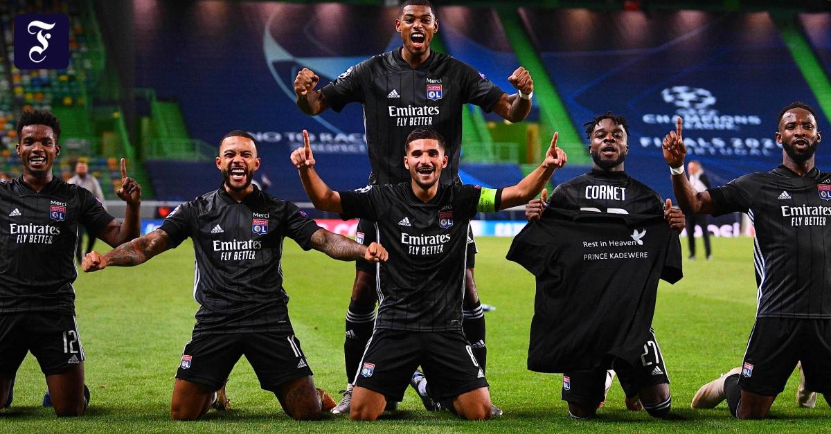 Lyon besiegte Manchester City und traf auf Bayern