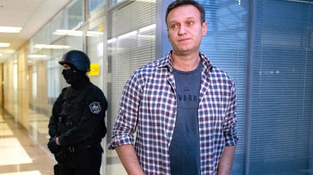 Der Kremlkritiker Alexei Navalny.  (Quelle: dpa)