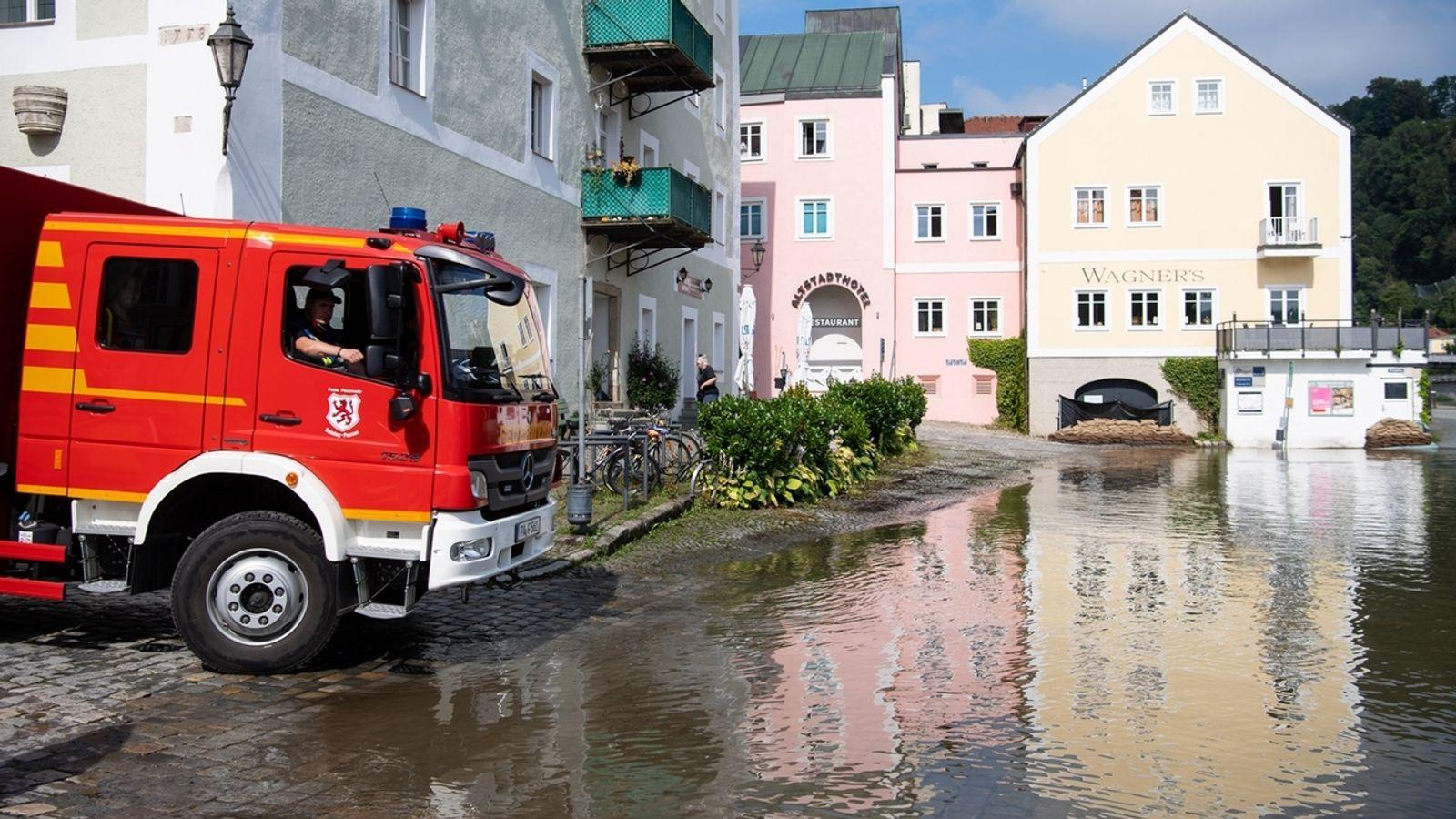 Die Hochwassersituation in Bayern entspannt sich