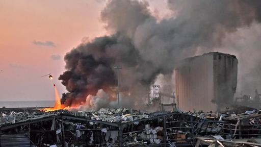 Gewalttätige Explosionen: Viele Tote und Verletzte in Beirut