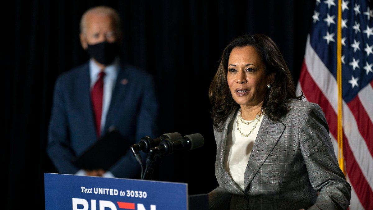 Kampagne mit groben Theorien: Trump bezweifelt Harris 'Recht, ein Laster zu führen