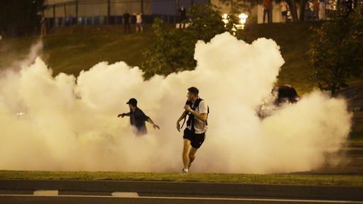Präsidentschaftswahlen in Belarus: Die Polizei geht gegen Demonstranten vor