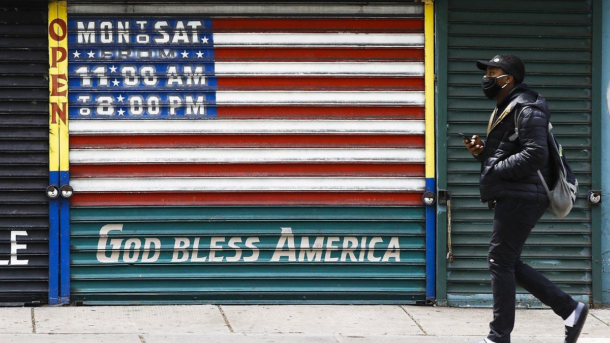 Tod droht, keine Genesung: US-Experten fordern eine sechswöchige Sperrung