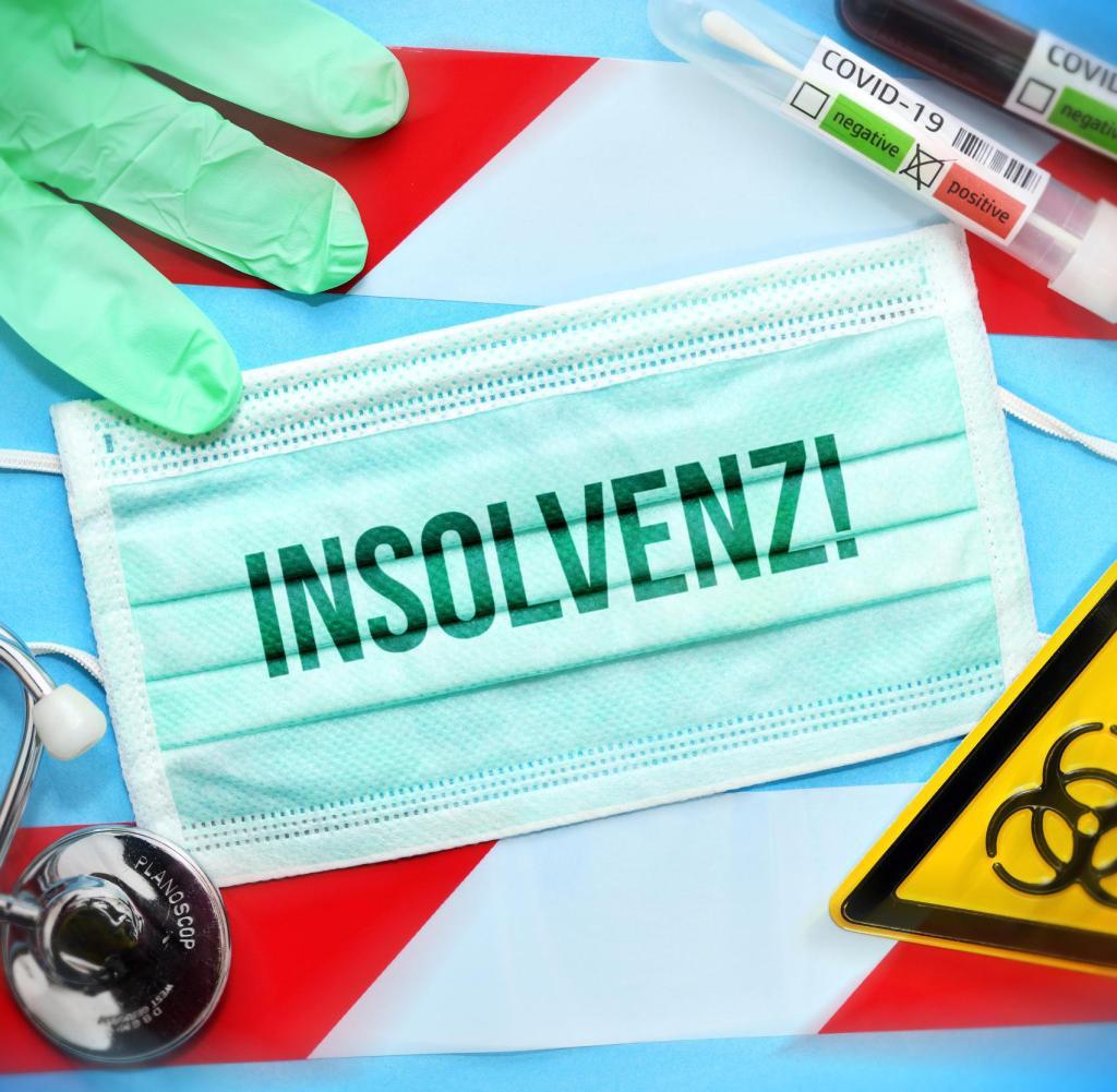 Aufgrund der Folgen der Koronapandemie ist die deutsche Wirtschaft mit Hunderttausenden von Insolvenzen bedroht