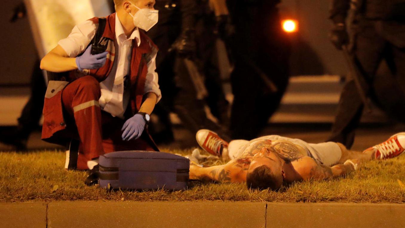 Wieder Gewalt gegen Demonstranten - einer tot