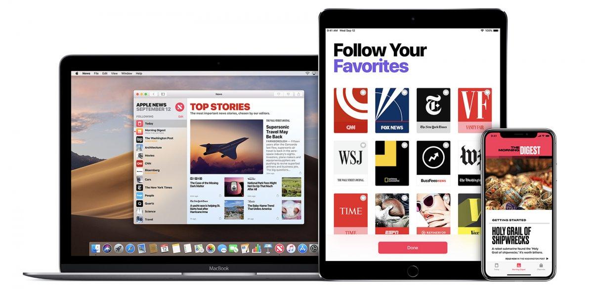 iOS 14 und macOS 11: Apple News + Capture-Weblinks